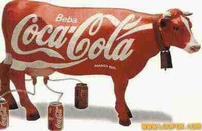 Vache Coca-Cola