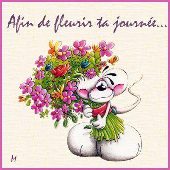 Gifs messages page 2 for Bouquet de fleurs humour