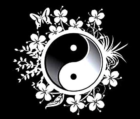 Yin yang for Signification du noir et blanc
