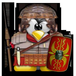 Tux Soldat romain